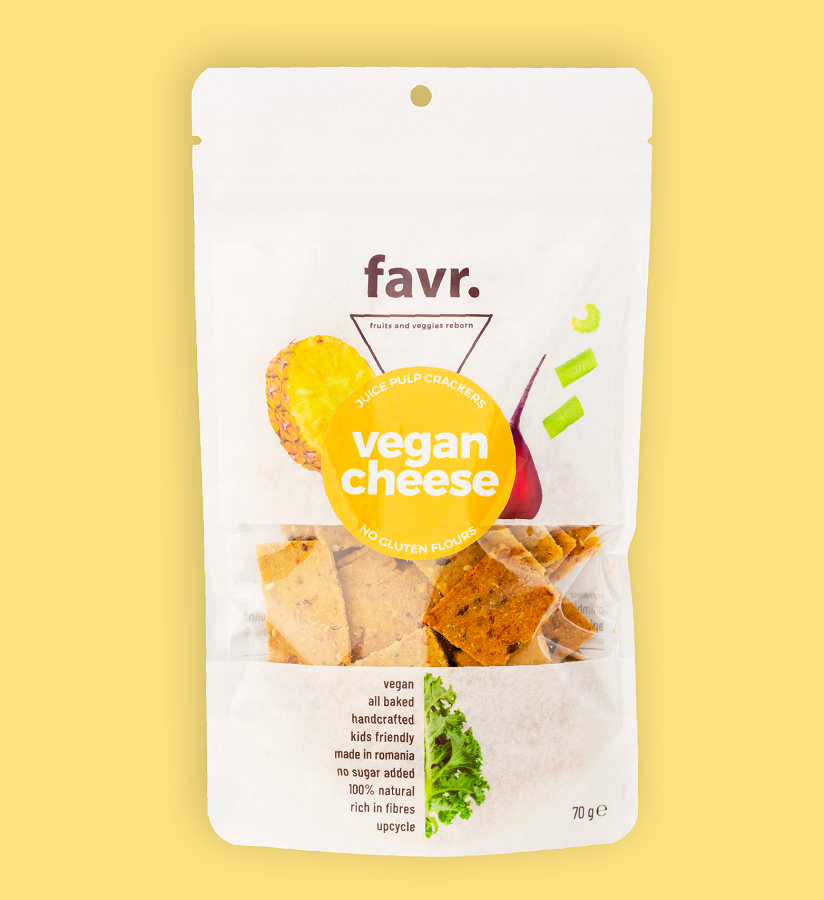 Snacks vegan cheese