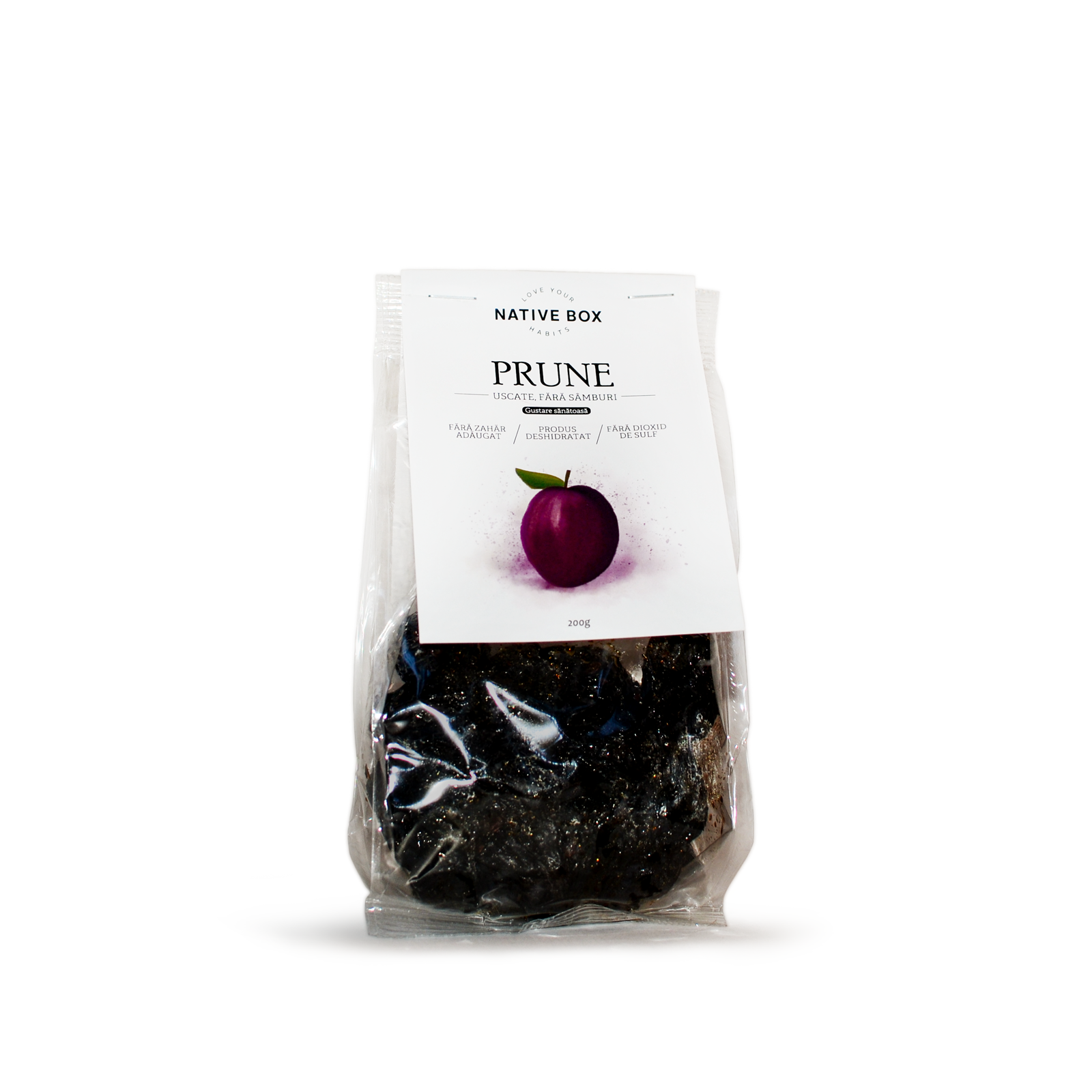 Prune uscate fara samburi nativebox 120 4049